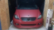 Benz Front 3M Red Metali
